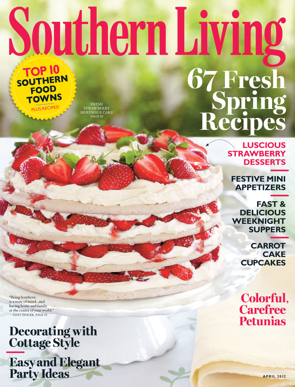 Southern Living -Cooking Magazines