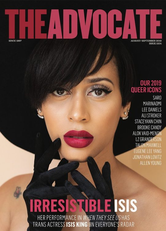 The Advocate - Gay Magazines