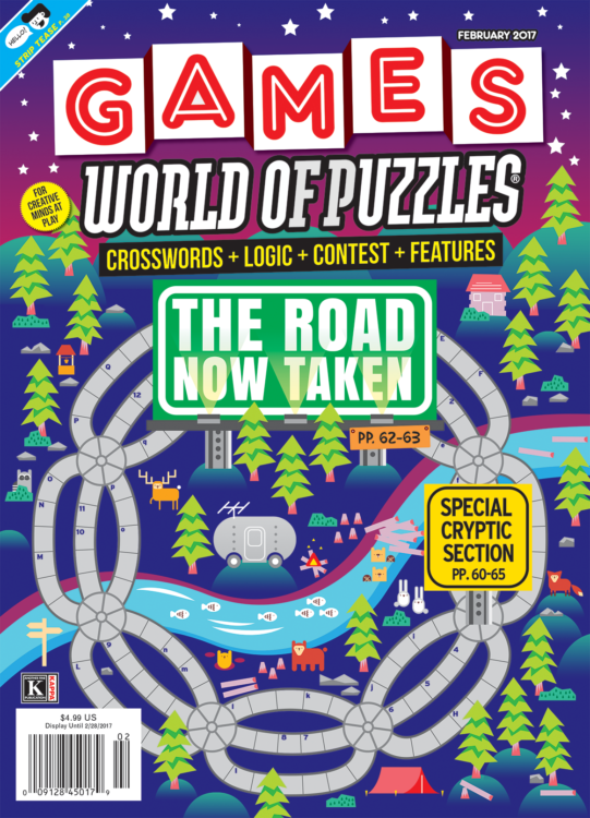 Games World of Puzzles - Gaming Magazines