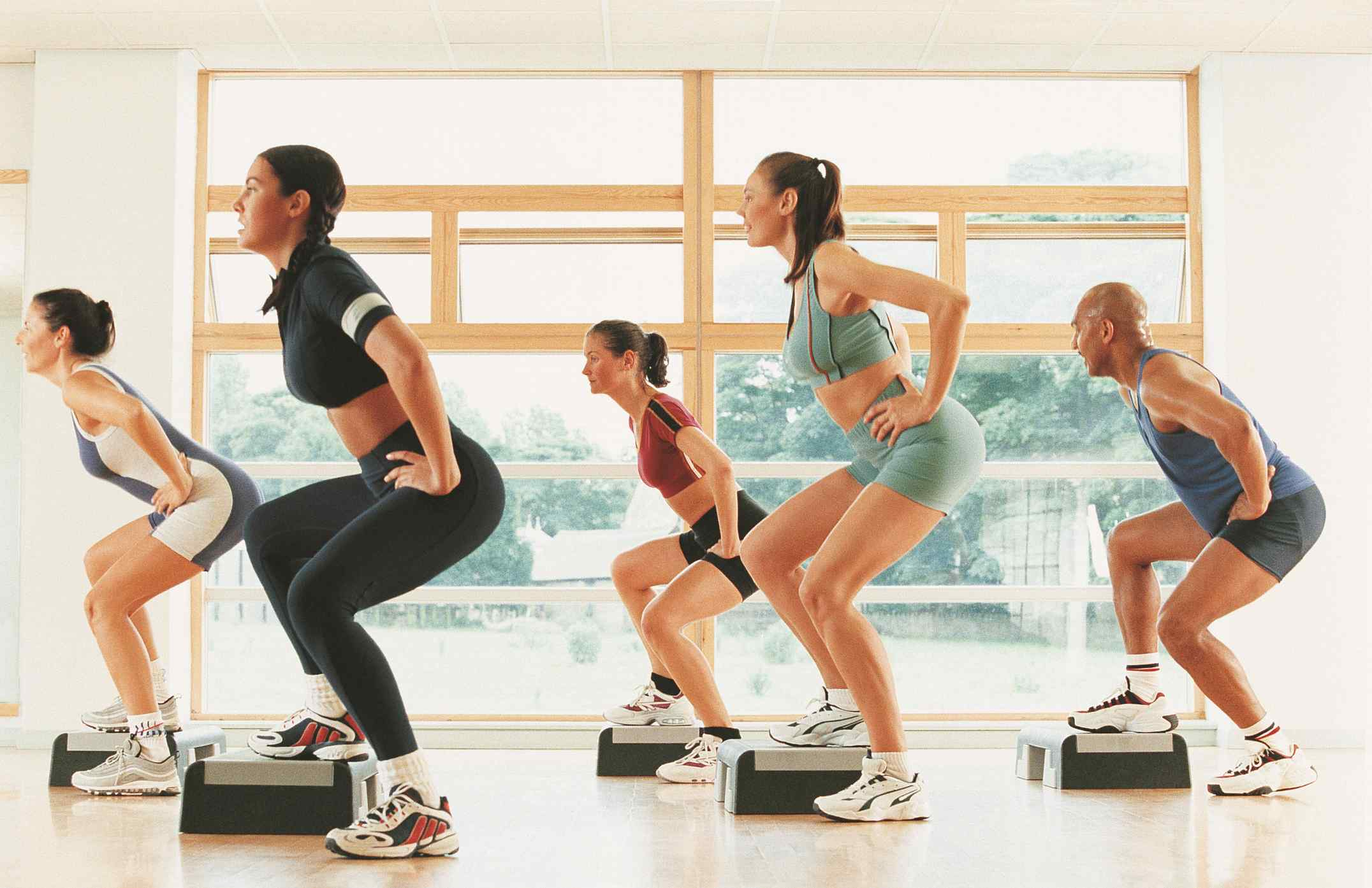 How many types of exercise and their benefits?