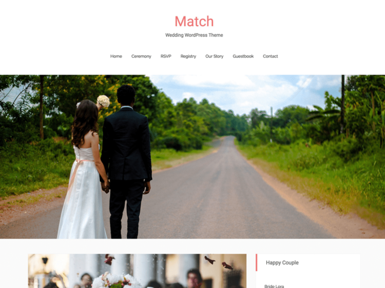 Match - WordPress Templates Free