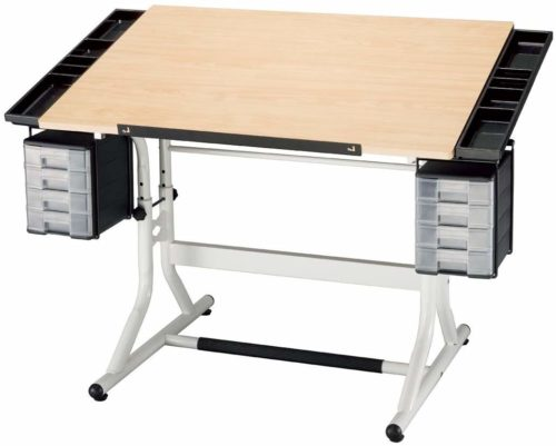 Alvin's CraftMaster Deluxe Drafting Table  Top 10 Architect Desk for Comfort and Convenience
