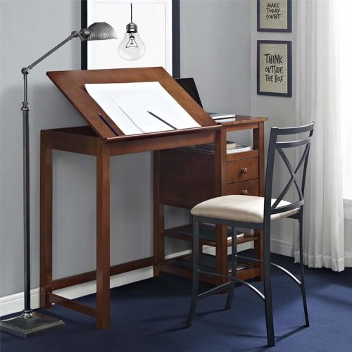 Dorel Living's Drafting & Craft Counter   Top 10 Architect Desk for Comfort and Convenience