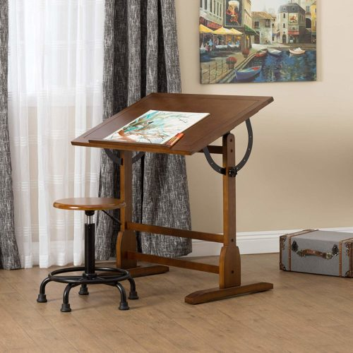 Studio Designs Vintage Drafting Table | Top 10 Architect Desk for Comfort and Convenience