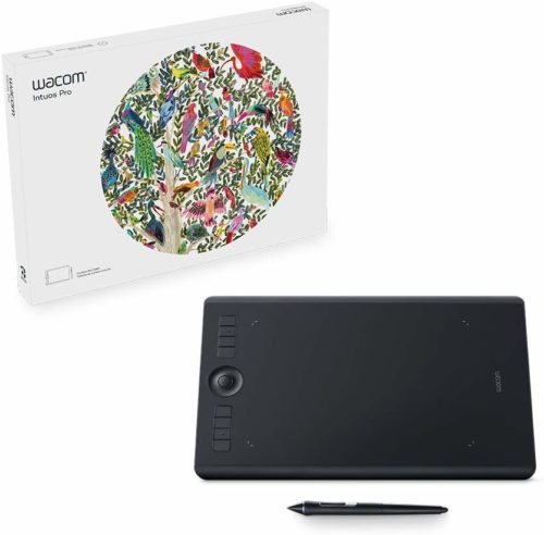 Wacom Intuous Pro Digital Graphic Drawing Tablet | Top 10 Drawing Tablets for Designer