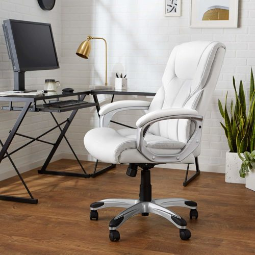 AmazonBasics High-Back Executive Swivel Chair | EXECUTIVE OFFICE CHAIRS