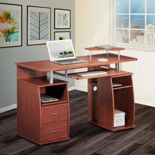 Complete Computer Workstation Desk