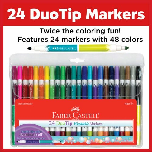 Faber-Castell DuoTip Washable Copic Markers | Top Ten Best Copic Markers
