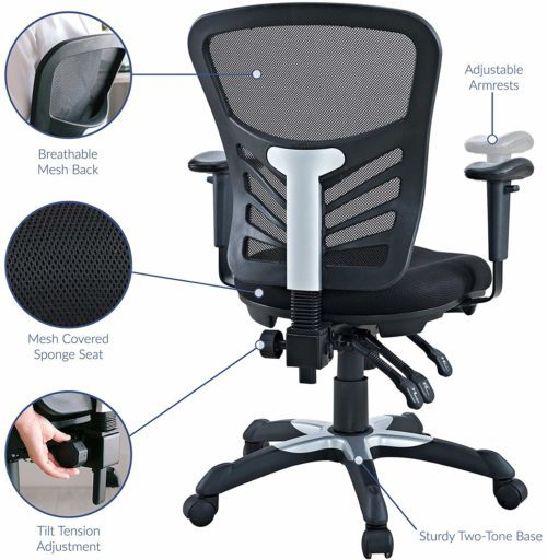 Modway Articulate Ergonomic Mesh | EXECUTIVE OFFICE CHAIRS