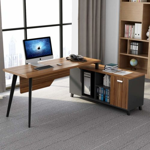 Tribesigns L-Shaped Desk | Modern Office Furniture