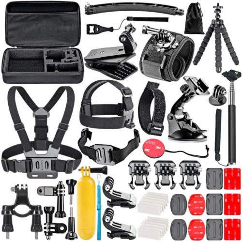 Neewer 50-In-1 Action Camera Accessory Kit for GoPro   Camera Accessories