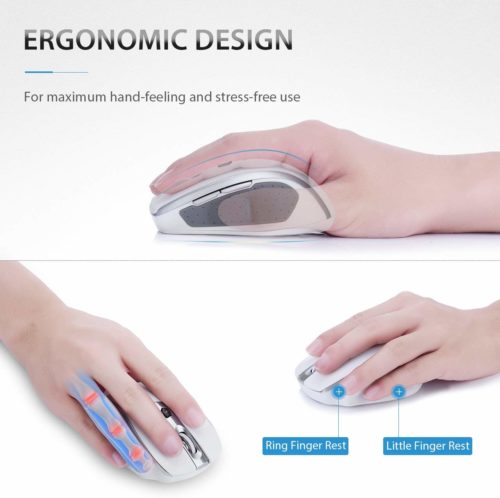 VicTsing mm057 2.4G Wireless Portable Mobile Mouse