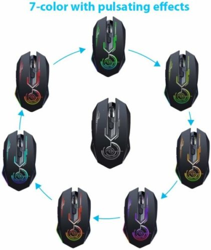 Wireless Gaming Mouse Up to 10000 DPI