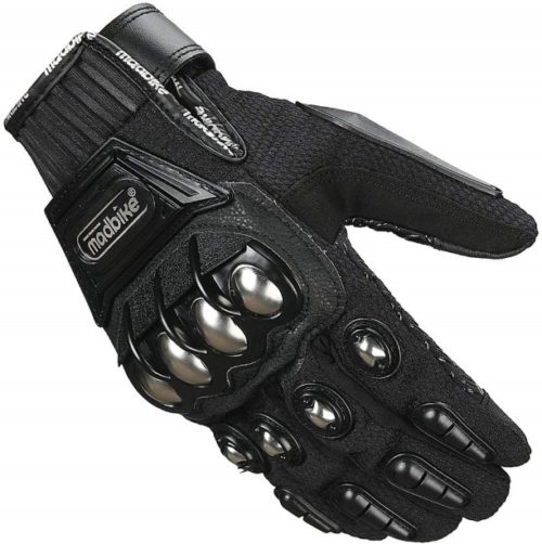 ILM Alloy Steel Paintball Gloves (L, BLACK) | Top 10 Best Motorcycle gloves in 2019