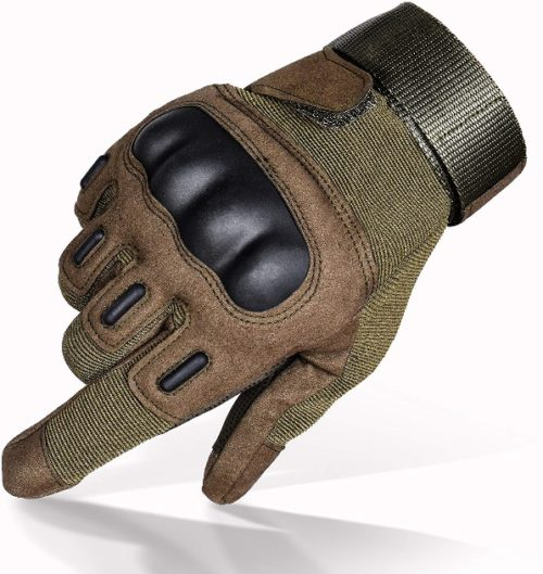 TitanOPS Motorcycle Military Outdoor Gloves | Top 10 Best Motorcycle gloves in 2019