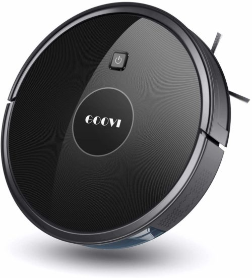 Robot Vacuum, GOOVI 1600PA Robotic Vacuum Cleaner with Self-Charging