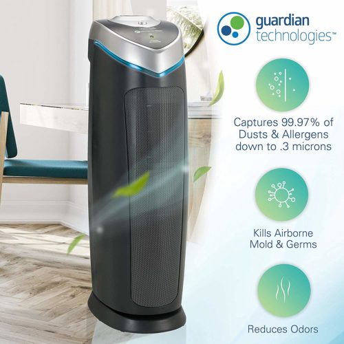 Germ Guardian True HEPA Filter Air Purifier | Automatic Cleaner Assistant