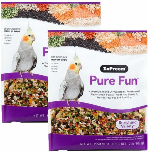 ZuPreem Pure Fun Bird Food, Available for Various Sizes