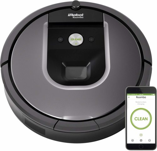iRobot Roomba 960 Robot Vacuum- Wi-Fi Connected Mapping |Automatic Cleaner Assistant