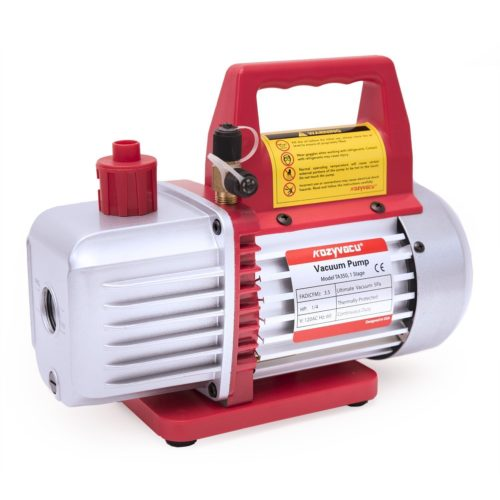 Kozyvacu TA350 Single-Stage Rotary Vane Vacuum Pump -  air conditioning vacuum pumps
