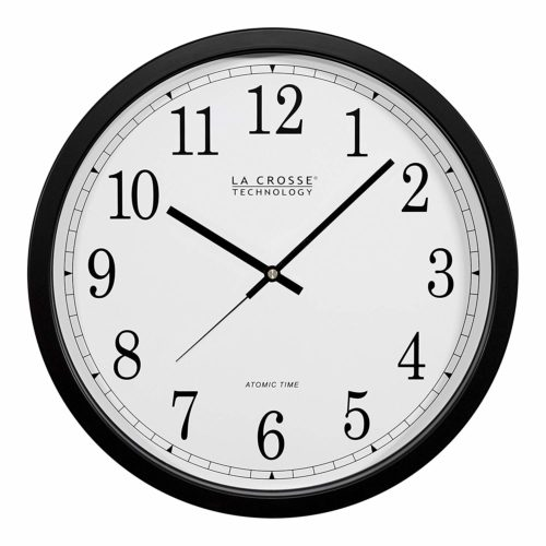 La Crosse Technology WT-3143A-INT 14-Inch Atomic Wall Clock | 15 things your office should have