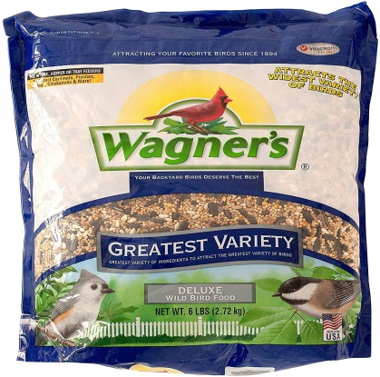 Wagner's 62059 Greatest Variety Blend Bird Food, 32-Pounds