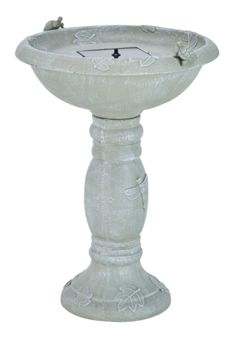 Smart Solar 20622R01 Country Gardens Solar Birdbath Fountain