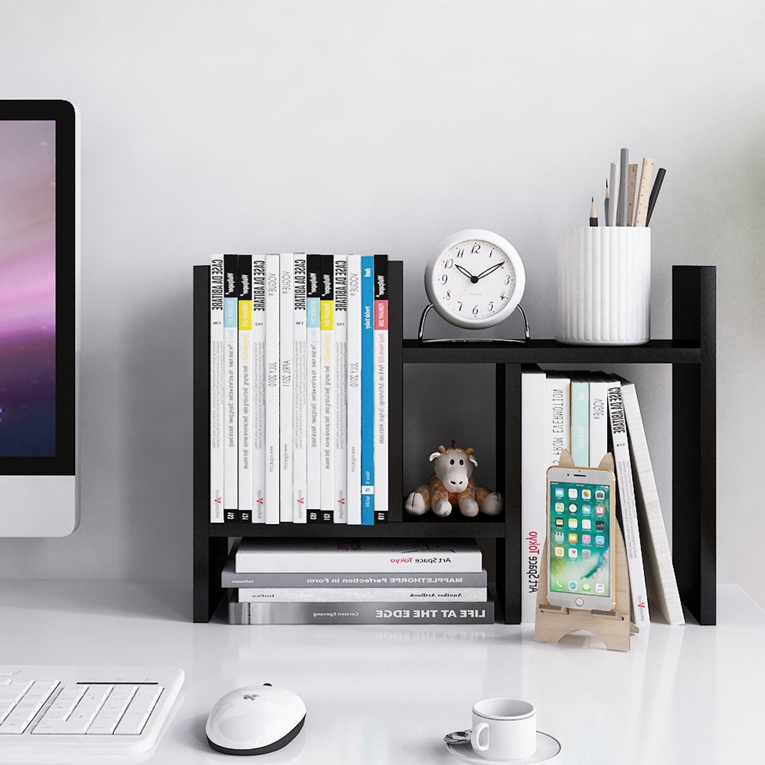 Jerry & Maggie Wood Display Shelf - Things You Should Have on Your Office Desk