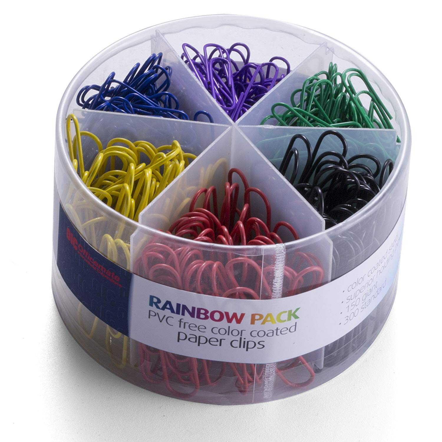 Officemate PVC Free Color Coated Paper Clips - Things You Should Have on Your Office Desk