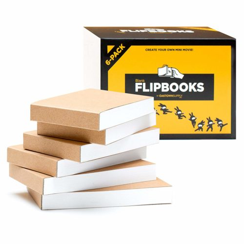 Blank Flipbooks for Animation Sketching and Cartoon Creation | 10 Things Animators Should Have