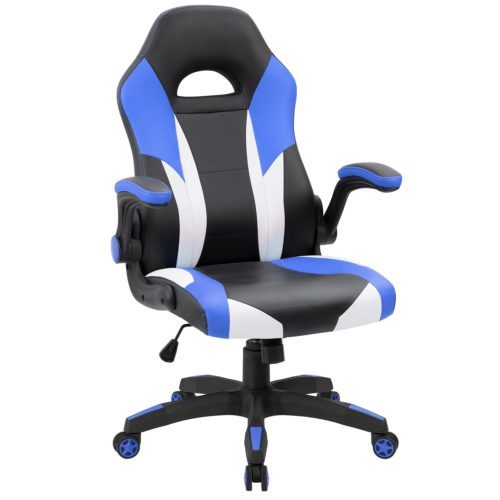 JUMMICO Gaming Chair Ergonomic Leather Racing Computer Chair- Cheap Gaming Chairs