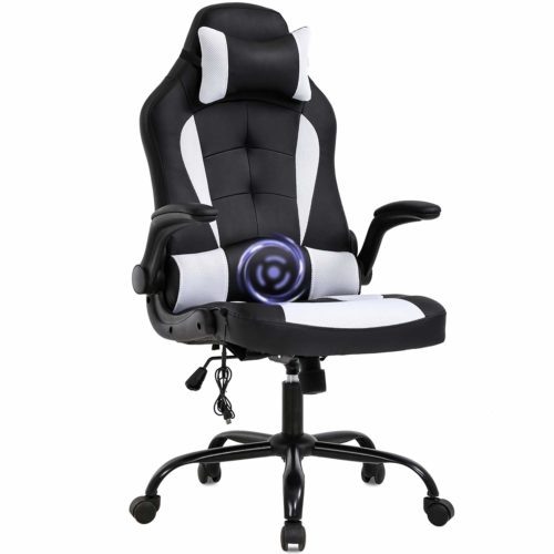 PC Gaming Chair Massage Office Chair Ergonomic Desk Chair- Cheap Gaming Chairs