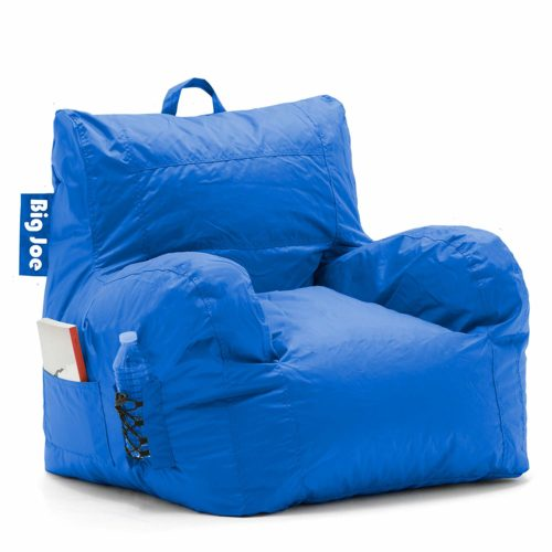 Big Joe Dorm Bean Bag Chair, Sapphire Blue
