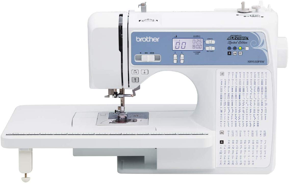 Brother XR9550PRW Computerized Sewing Machine - Mini Sewing Machines
