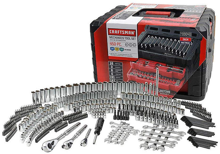 Craftsman - Mechanics Tool Set