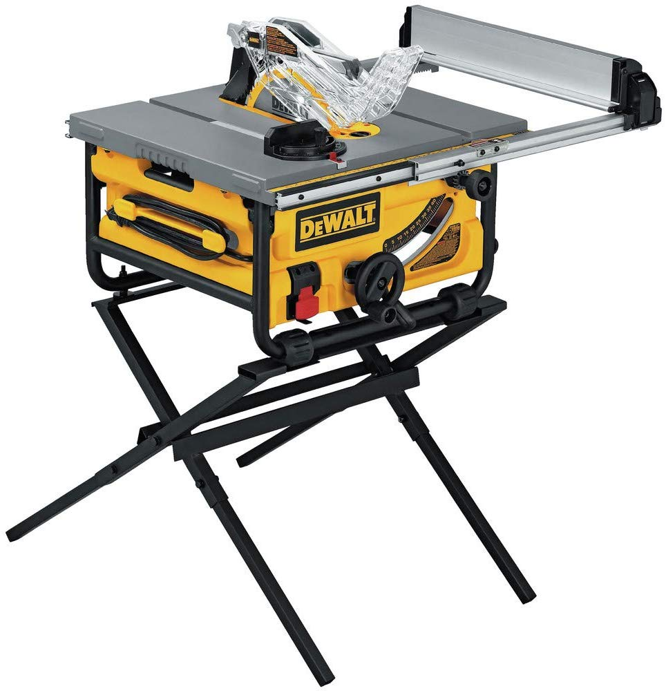 DEWALT DW745S Compact Job Site Table Saw - Woodworking Saws