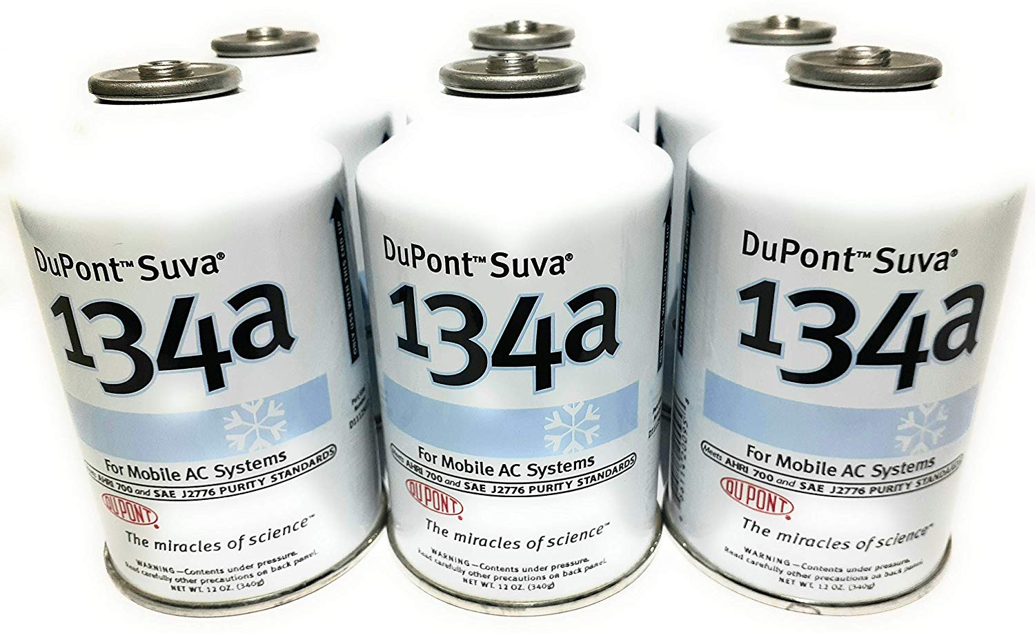 DuPont Suva R134a Automobile Refrigerant/Freon | Gas Kits for Air Conditioners