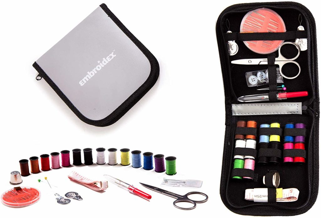 Embroidex Sewing Kit for Home - Travel Sewing Kits