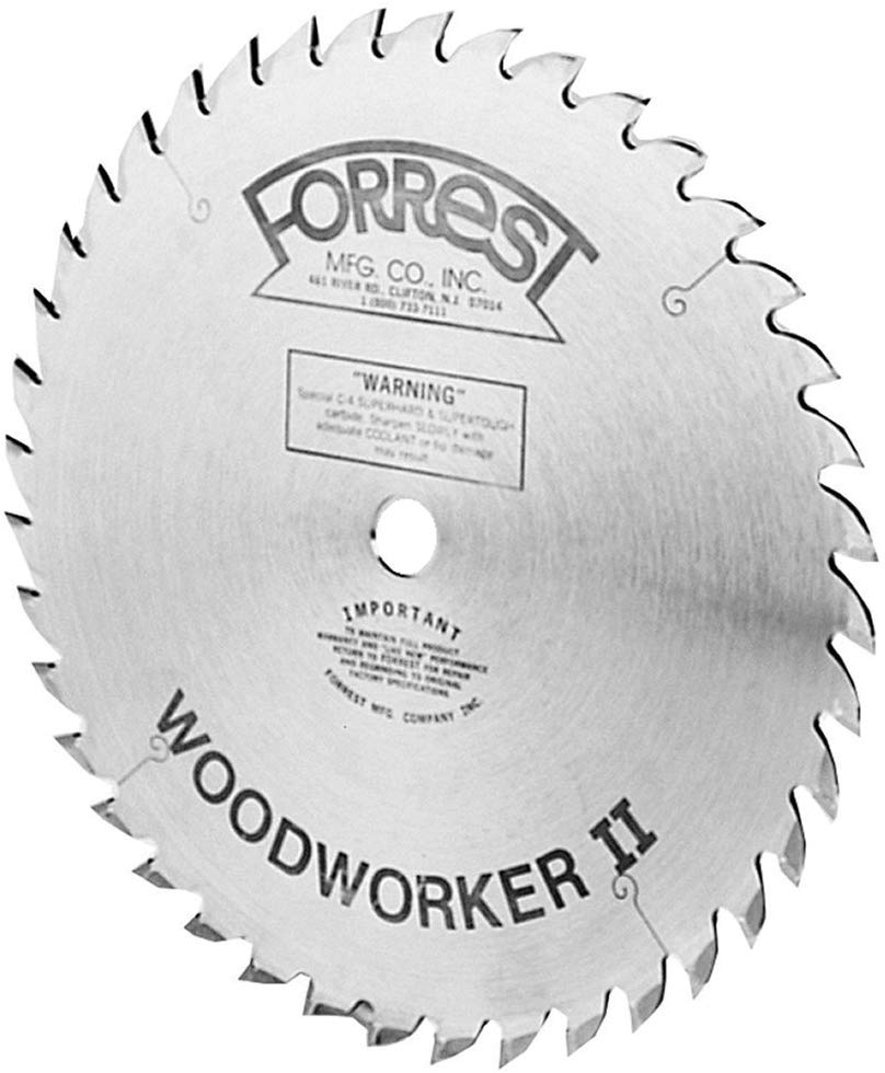 Forrest 10-Inch - Table Saw Blades