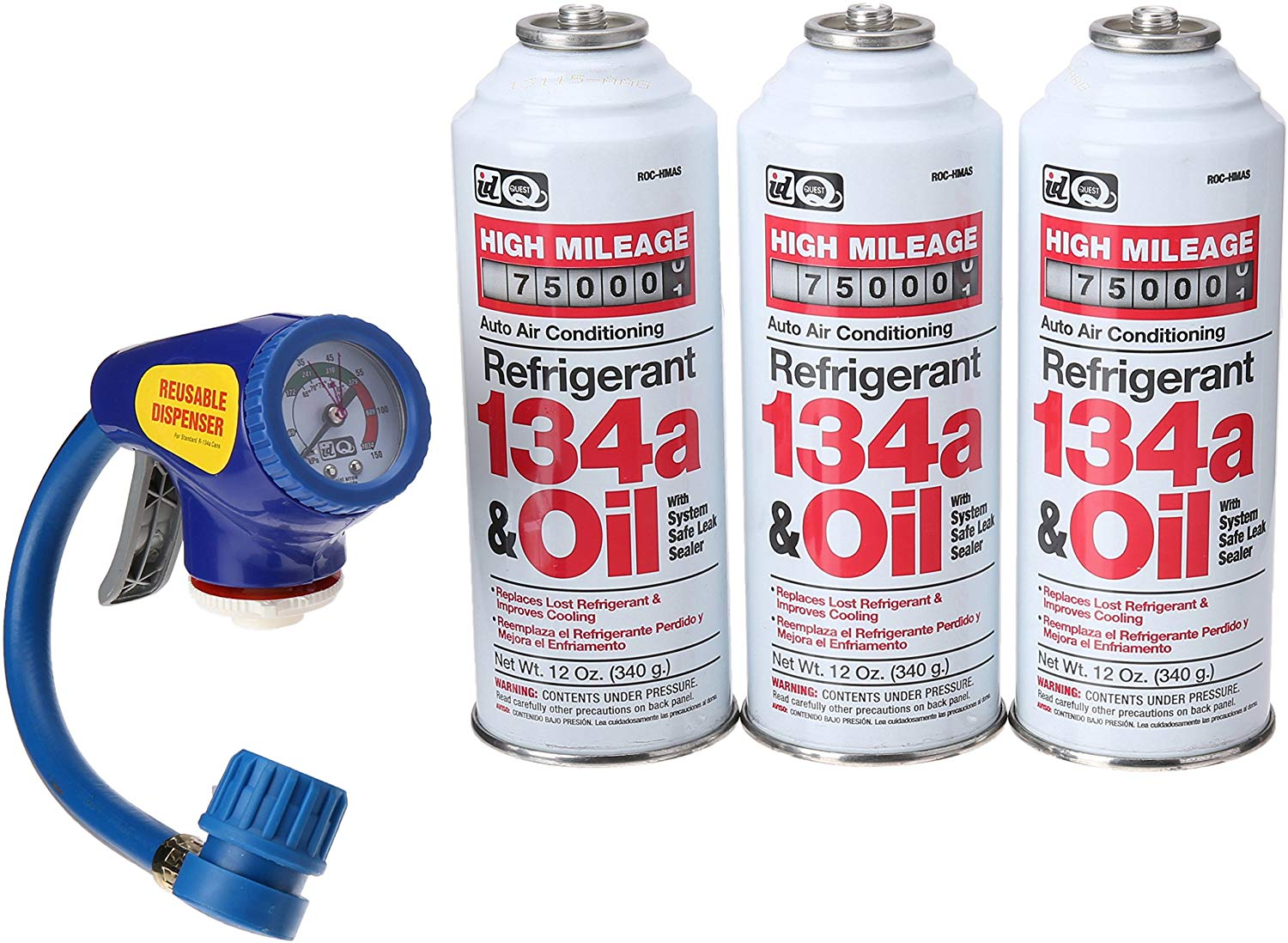 InterDynamics EX Chill Recharge & Retrofit Kit | Gas Kits for Air Conditioners