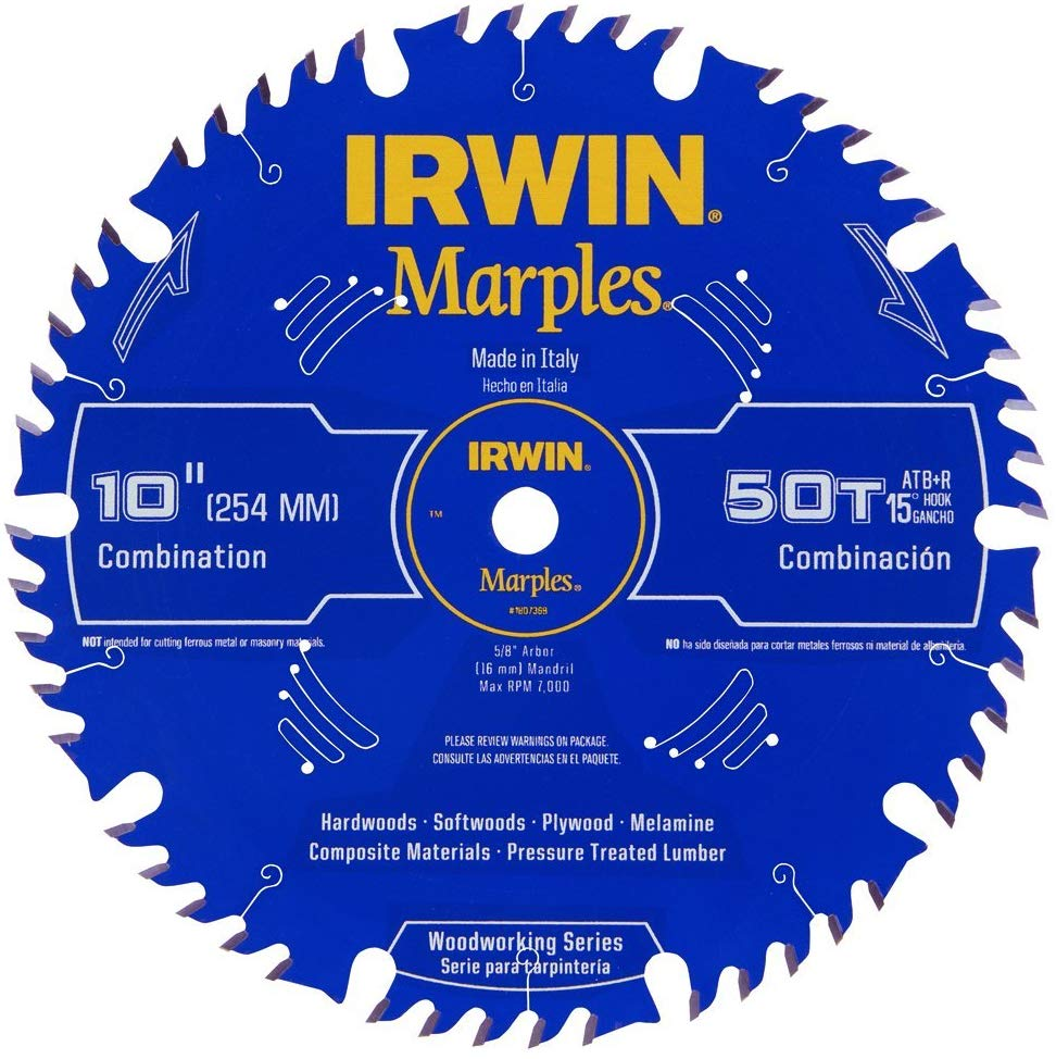 Irwin Tools - Table Saw Blades