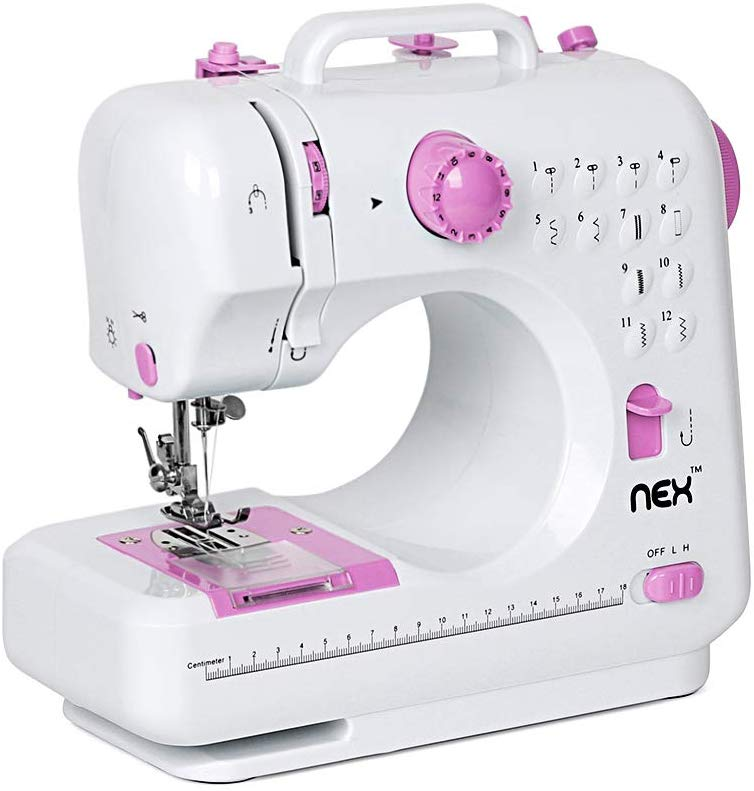 NEX Portable Crafting Mending Sewing Machine - Mini Sewing Machines