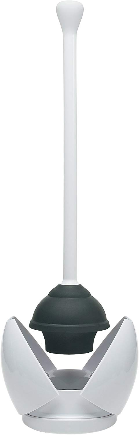 OXO Good Grips Hideaway Toilet Plunger and Canister - Toilet Plungers