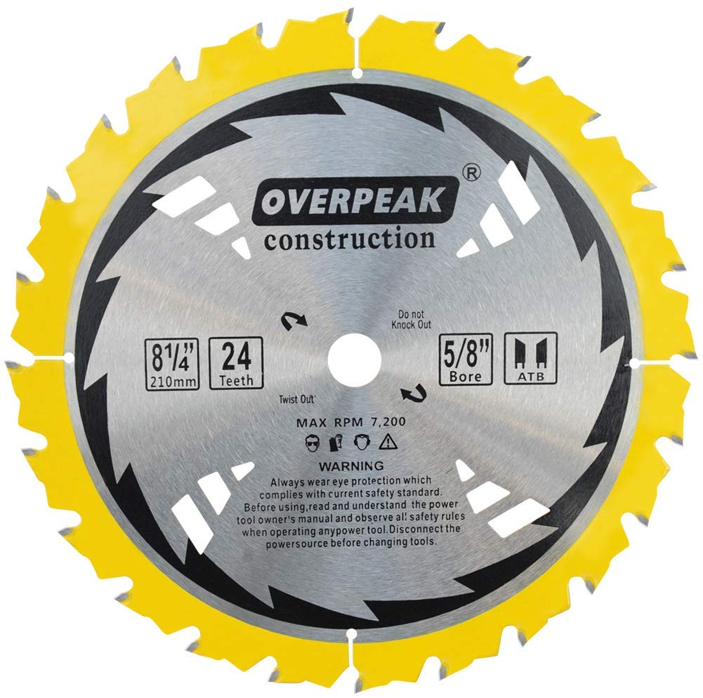 Overpeak 8-1/4 inch - Table Saw Blades