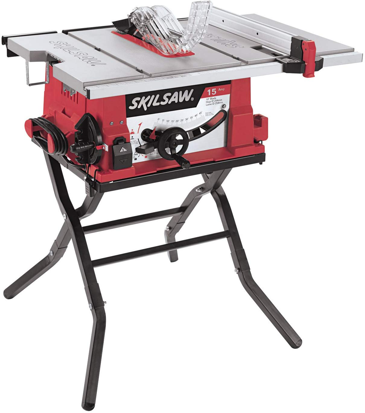 SKIL 3410-02 Table Saw with Folding Table - Woodworking Saws