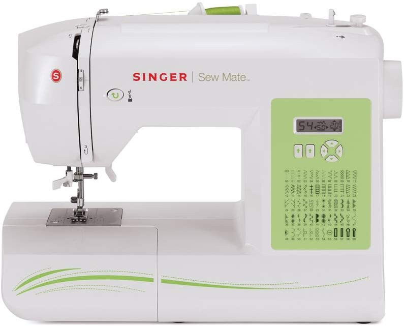 Singer Sew Mate 5400 Sewing Machine - Leather Sewing Machines