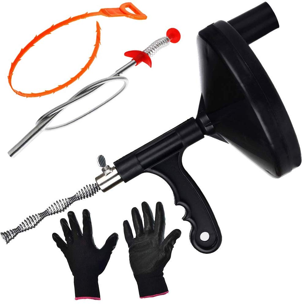 Snake Drain Heavy Duty Steel Cable - Tool Kits for Plumbers