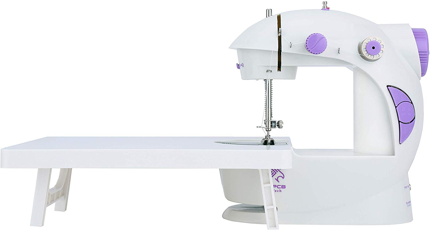 Vermax Mini Sewing Machine with Extension Table - Mini Sewing Machines