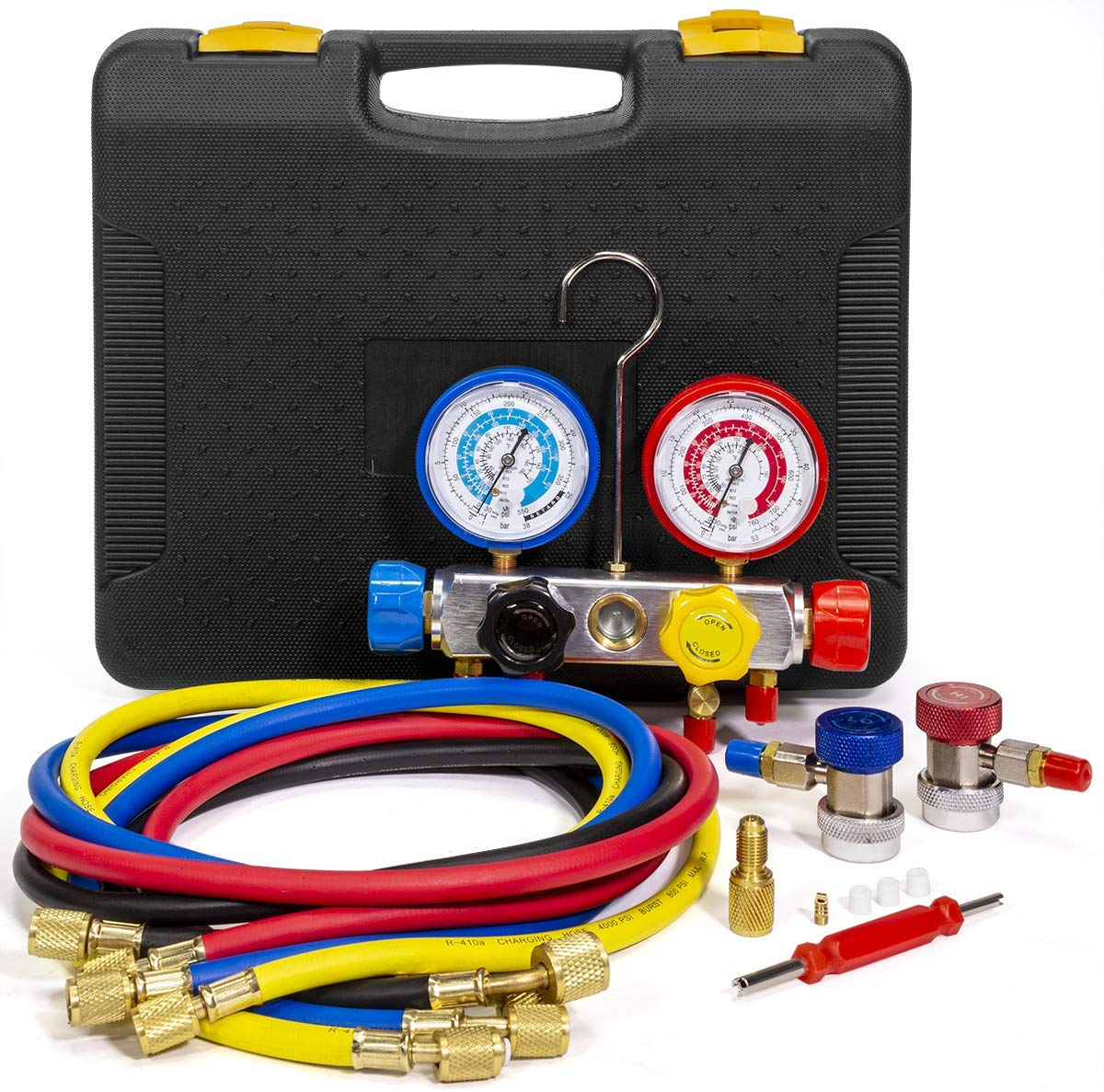 XtremepowerUSManifold Gauge | Gas Kits for Air Conditioners