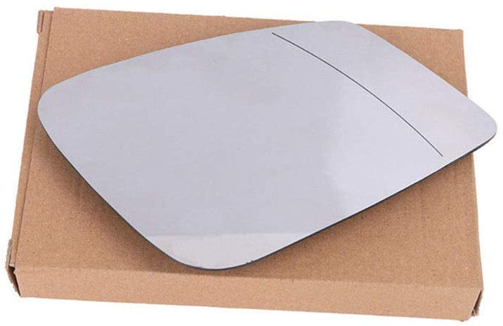 Ricoy White tinted Rearview Heated Wing Side Mirror Glass For F01 F07 F10 F11 F18 F20 F30 F32 F34 F36 (Right)